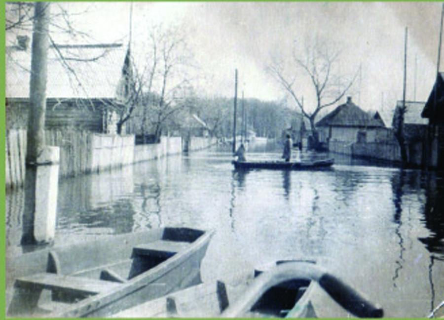 Весна. Комарин. Наводнение